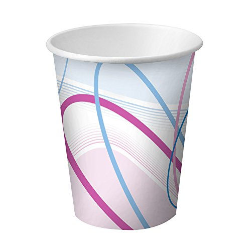 Dynarex Disposable Paper Cups - Contemporary Design - For Personal & Professional Use - For Hot & Cold Liquids - 7 oz - 100 Count (Disposable Hot Beverage Dispenser compare prices)