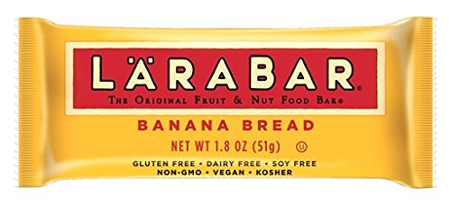 LÄRABAR Gluten Free Fruit & Nut Food Bar, Banana Bread, 1.8 oz, 16 Count