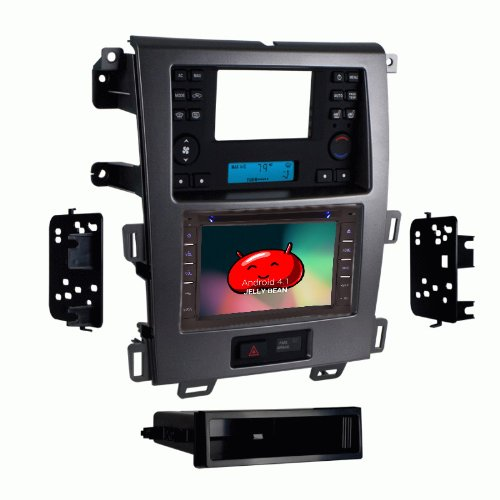 Ottonavi Ford Edge 2011-Up K-Series Android Multimedia Gps Radio With Dash Kit