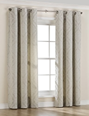 Romance Design Eyelet Curtains