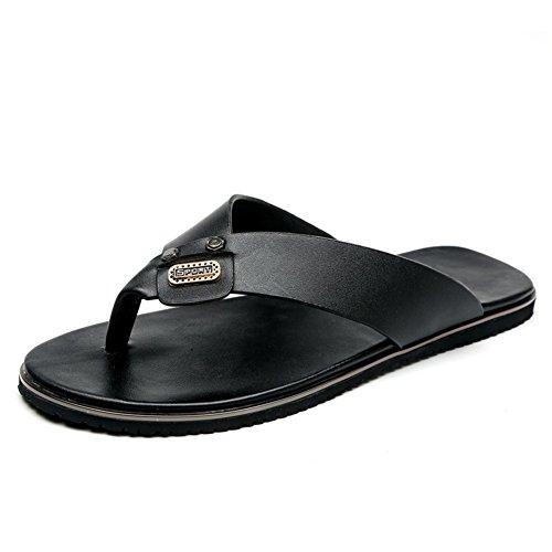 scarpe casual uomini di estate/Sandali e ciabatte/flops/Semplici pantofole all'aperto/Ciabattina fashion via inglese-A Lunghezza piede=24.8CM(9.8Inch)