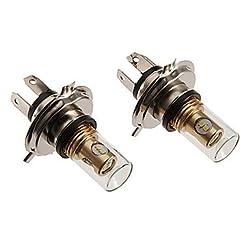 See H4 12W 880LM 5500-6500K Cool White Light LED Bulb for Car (12-24V) Details