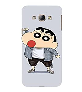 EPICCASE Ching Shang Mobile Back Case Cover For Samsung Galaxy A8 (Designer Case)