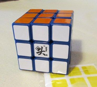Dayan V 5 ZhanChi 3x3 Speedcube Blue Twisty Puzzle Cube 3x3x3 [Toy]