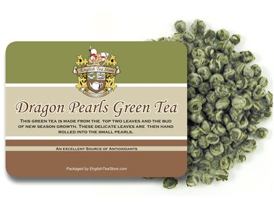 Dragon Pearls Green Tea - Loose Leaf - 4oz