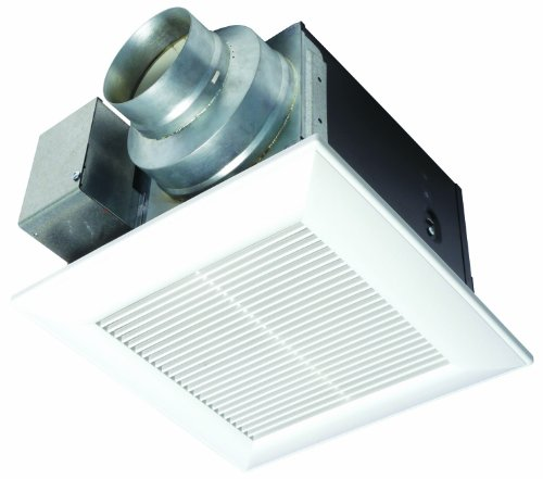 Panasonic FV-05VQ5 WhisperCeiling 50 CFM Ceiling Mounted Fan, White (Bathroom Vent Fan Timer compare prices)