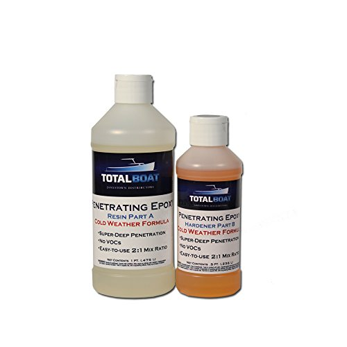TotalBoat Penetrating Epoxy (Pint, Cold Weather) (Aluminum Boat Repair Kit compare prices)