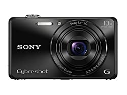 Sony Cybershot DSC-WX220/B 18.2MP Digital Camera (Black)