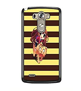 PrintDhaba Cartoon D-5618 Back Case Cover for LG G3 (Multi-Coloured)