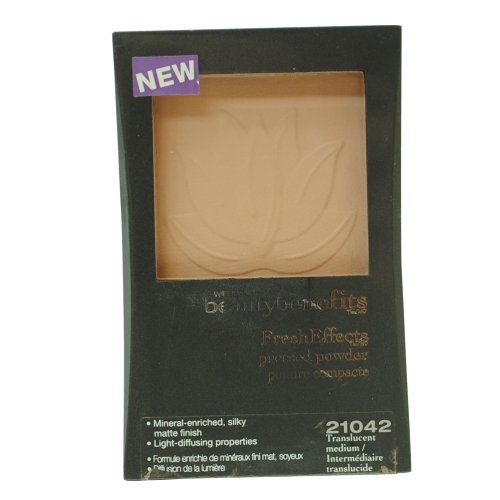 ウェットアンドワイルド BEAUTY BENEFITS PRESSED POWDER #21042 TRANSLUCENT MEDIUM