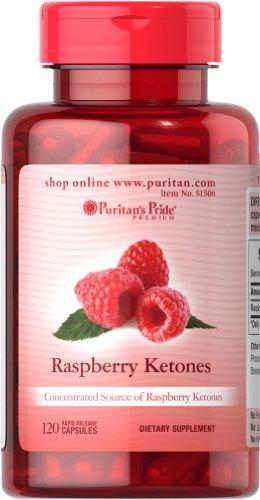 Puritan'S Pride 2 Pack Of Raspberry Ketones 100 Mg Puritan'S Pride Raspberry Ketones 100 Mg-120 Rapid Release Capsules