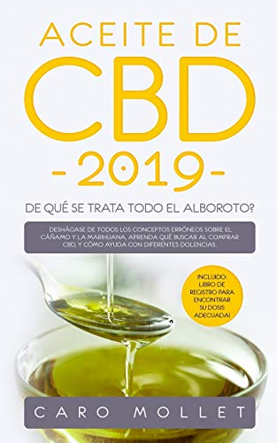 Aceite de CBD 2019  [Mollet, Caro] (Tapa Blanda)