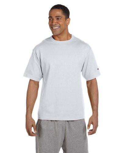 Champion 7 oz. Cotton Heritage Jersey T-Shirt, Silver Gray, 2XL (Champion 7oz compare prices)