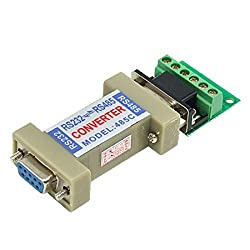 uxcell RS232 to RS485 Communication Data Converter Adapter with a Terminal Board