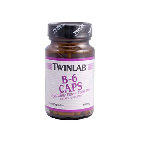 Twinlab B 6 Caps 100 Mg 100 Capsules