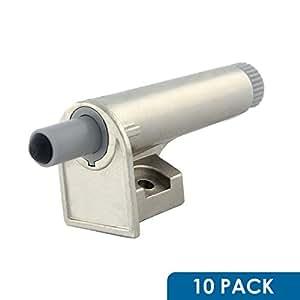 10 Pack SoftClose for Cabinet Doors / Metal Soft Close Adapter / Damper / Hardware / Zinc / Hinge