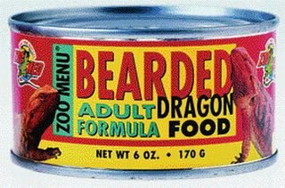 Bearded Dragon Food Adult 6 oz Can