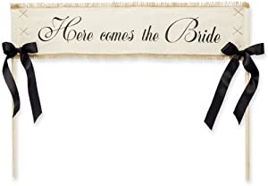 Mud Pie 'Here Comes The Bride' Wedding Banner by Mud Pie