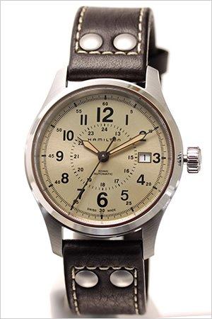 ハミルトン腕時計 [ HAMILTON時計 ]( HAMILTON 腕時計 ハミルトン 時計 ) カーキ フィールド オート ( KHAKI FIELD ) /メンズ時計/シャンパン/H70595523 [ビジネス 海外モデル 逆輸入 レア 海外 正規品 高級腕時計]