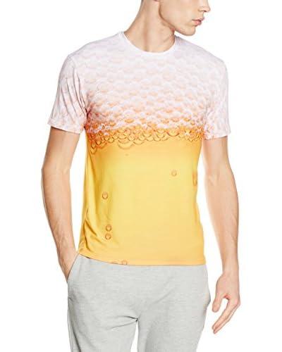 Mr. Gugu & Miss Go T-Shirt Unisex Beer gelb/weiß