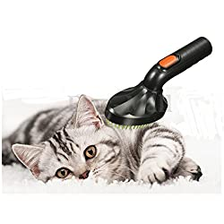 Pet Brush Cat Dog Loose Hair Grooming Vacuum Cleaner Nozzle Attachment Tool Kit