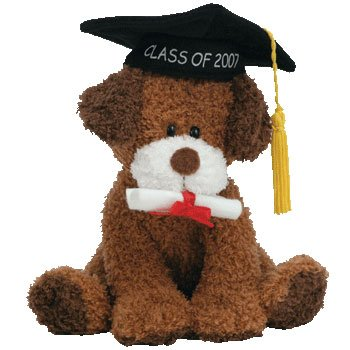Ty Beanie Babies Honor Roll - Graduation Dog Class of 2007 - 1