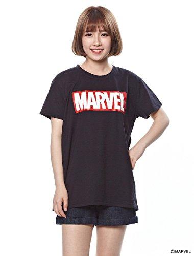 (ハニーズ コルザ) Honeys COLZA Tシャツ(マーベル) クロ M