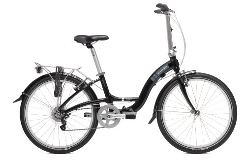 Dahon Briza D7 Folding Bike (Obsidian, 24-Inch)