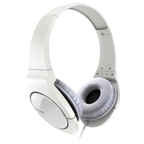 Pioneer Head Band Closed Dynamic Stereo Headphones | Se-Mj721-W White (Japanese Import)