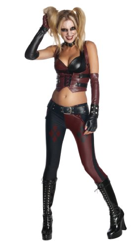 Batman Arkham City Secret Wishes Sexy Harley Quinn Costume at Gotham City Store