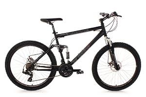 """KS Cycling Insomnia Vélo VTT 26"""" Noir 50 cm"""