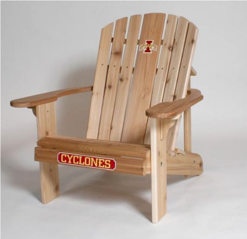 Iowa State Cyclones Logo Adirondack Chair with 23 inch Seat Width
