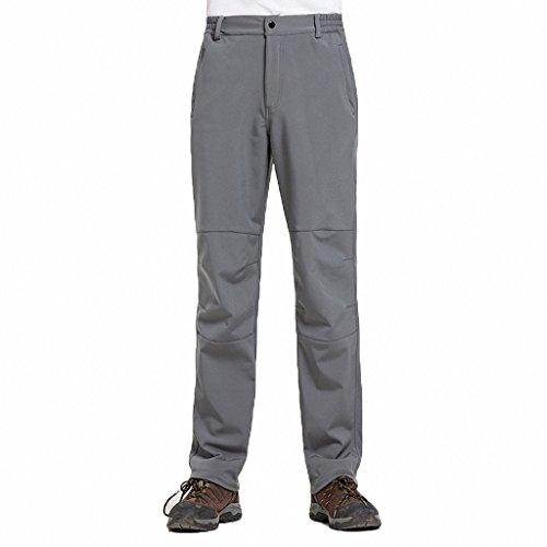 Maoko Men's Winter Mountain Fleece Climbing Trekking Hiking Ski Pants- Warm Windproof Soft Shell Snow Pants (Scandia Woods Cargo Pants compare prices)