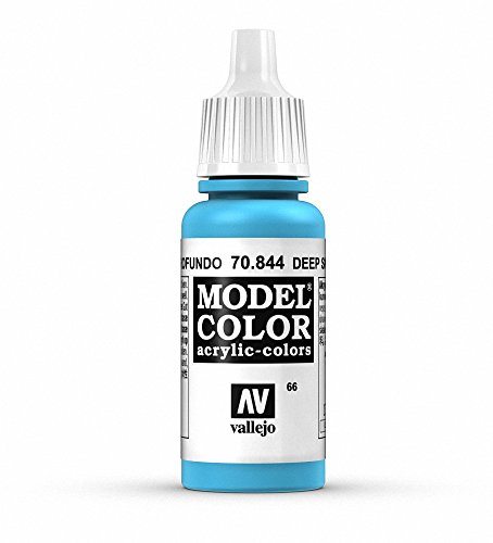Vallejo Deep Sky Blue Paint, 17ml