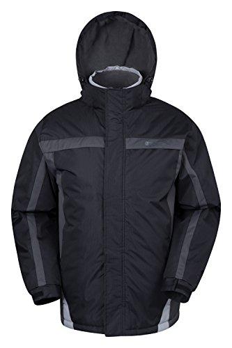 mountain-warehouse-mens-dusk-snowproof-hooded-fleece-lined-snowboarding-ski-jacket-black-large