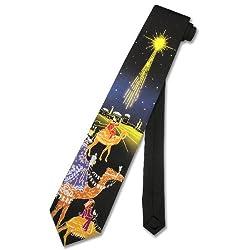 Heading to Bethlehem NeckTie Jesus Nativity Men's Neck Tie