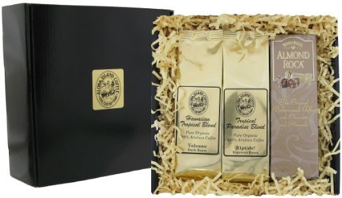 Gourmet Coffee Gift of Dark Roast Kona Hawaiian