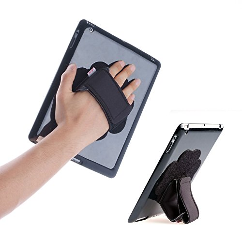 Discount TFY Padded Hand-Strap plus Tablet PC Cover Case for iPad 2 / 3 / 4 - Black