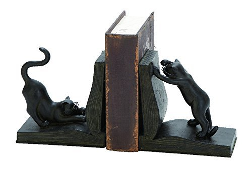 2-Pc Cat Bookend Set