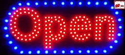Open Horizontal LED Neon Sign 20x10\