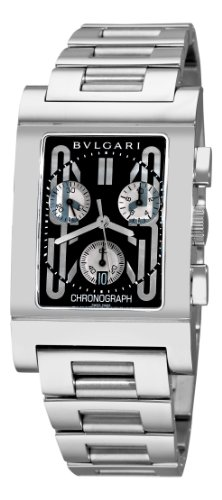 Bvlgari Rettangolo Mens Watch RTC49BSSD