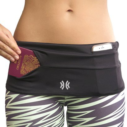 Limber Stretch - Hip Hug CLASSIC or PRO Running Fuel Belt with 4 Pockets