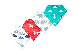 Adovely Bandana Bibs Drool Set - Whimsical