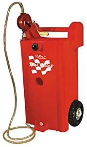 "John Dow Industries JDI-25GC-P1 25 Gallon Fuel Chief Polyethylene Gas Caddy with ""UL Approved"" Pump"