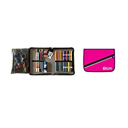BLUMBERG COMPANY SCHOOL SUPPLY KIT GR 5-8 HOT PINK (Set of 3)