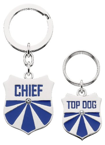 Littlegifts Top Dog Keychain And Charm Set
