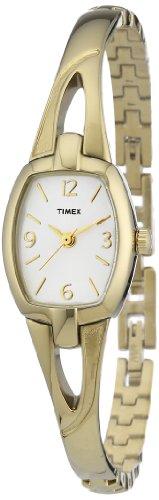 Timex Damen-Armbanduhr XS Analog Edelstahl beschichtet T2N824
