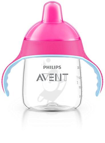Philips Avent SCF753/07 Tazza con Beccuccio Decorata, 260 ml, Rosa