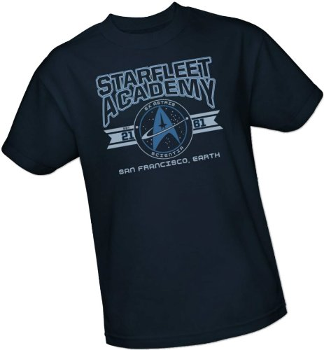 Starfleet Academy Cadet Athletic Insignia T-Shirt (Star Trek)