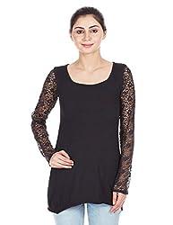NOI Women's A-Line Dress (AW12 NOI ANGEL _Black_Medium)